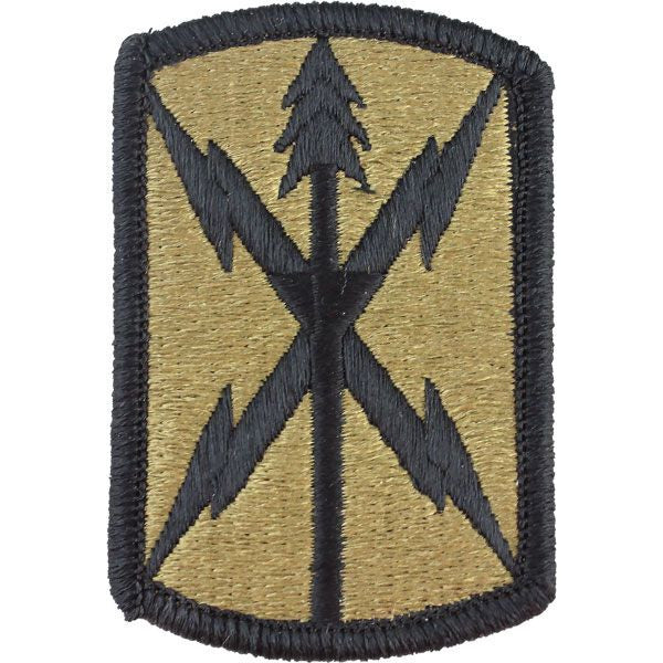516th Signal Brigade MultiCam (OCP) Patch