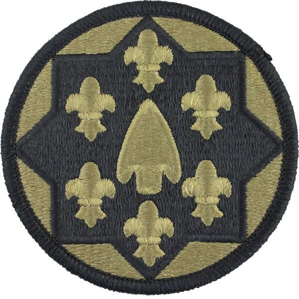 Th Support Group Multicam Ocp Patch Grande on Leather Dog Harnesses