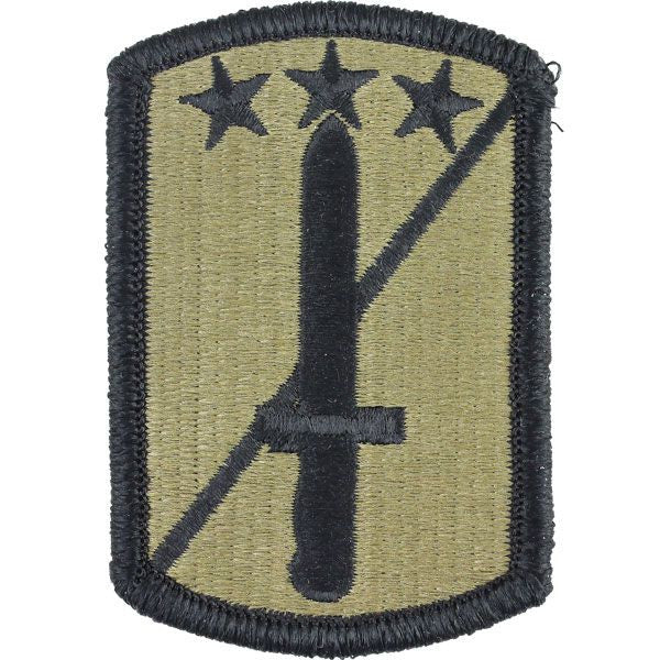 Vanguard army patch: 170th infantry brigade embroidered on acu.