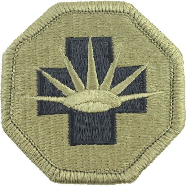 8th Medical Brigade MultiCam (OCP) Patch