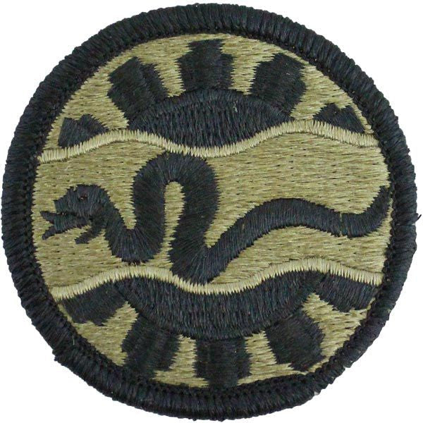 116th Cavalry Brigade Combat Team Multicam (OCP) Patch
