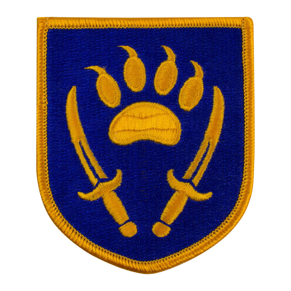 Combined Security Transition Command Afghanistan Full Color Patch