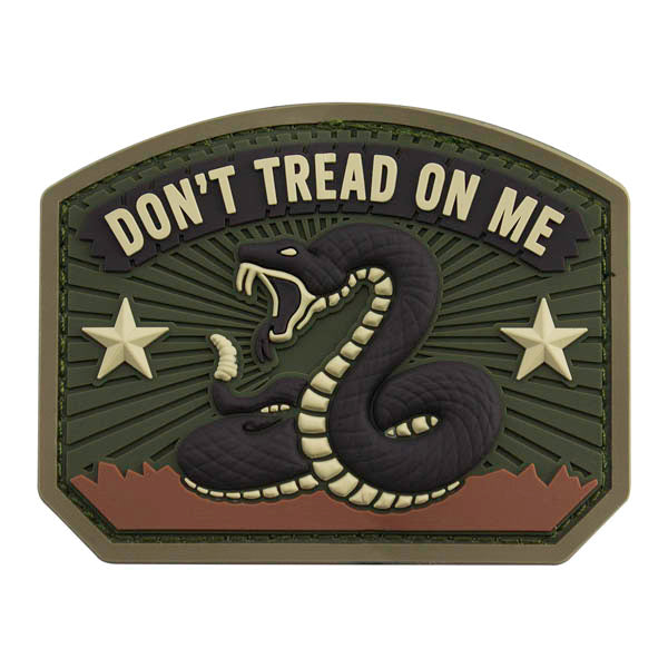 Don't Tread on Me PVC Patch - Multicam