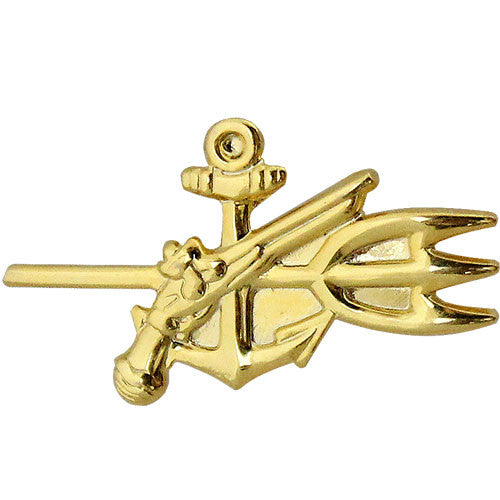 Navy Special Warfare Technician Warrant Officer Collar Device