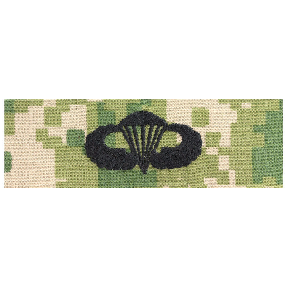 US Navy Embroidered Badge - Parachutist Basic