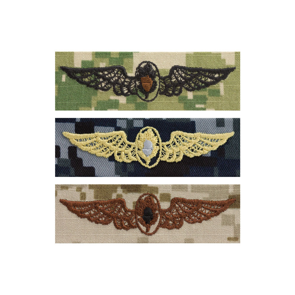 US Navy Embroidered Badge - Flight Surgeon