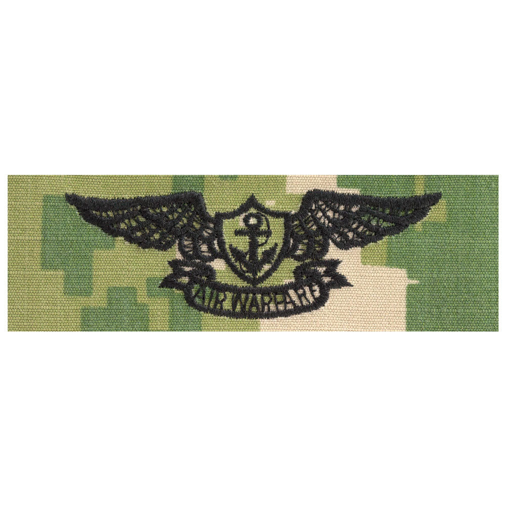 US Navy Embroidered Badge - Air Warfare