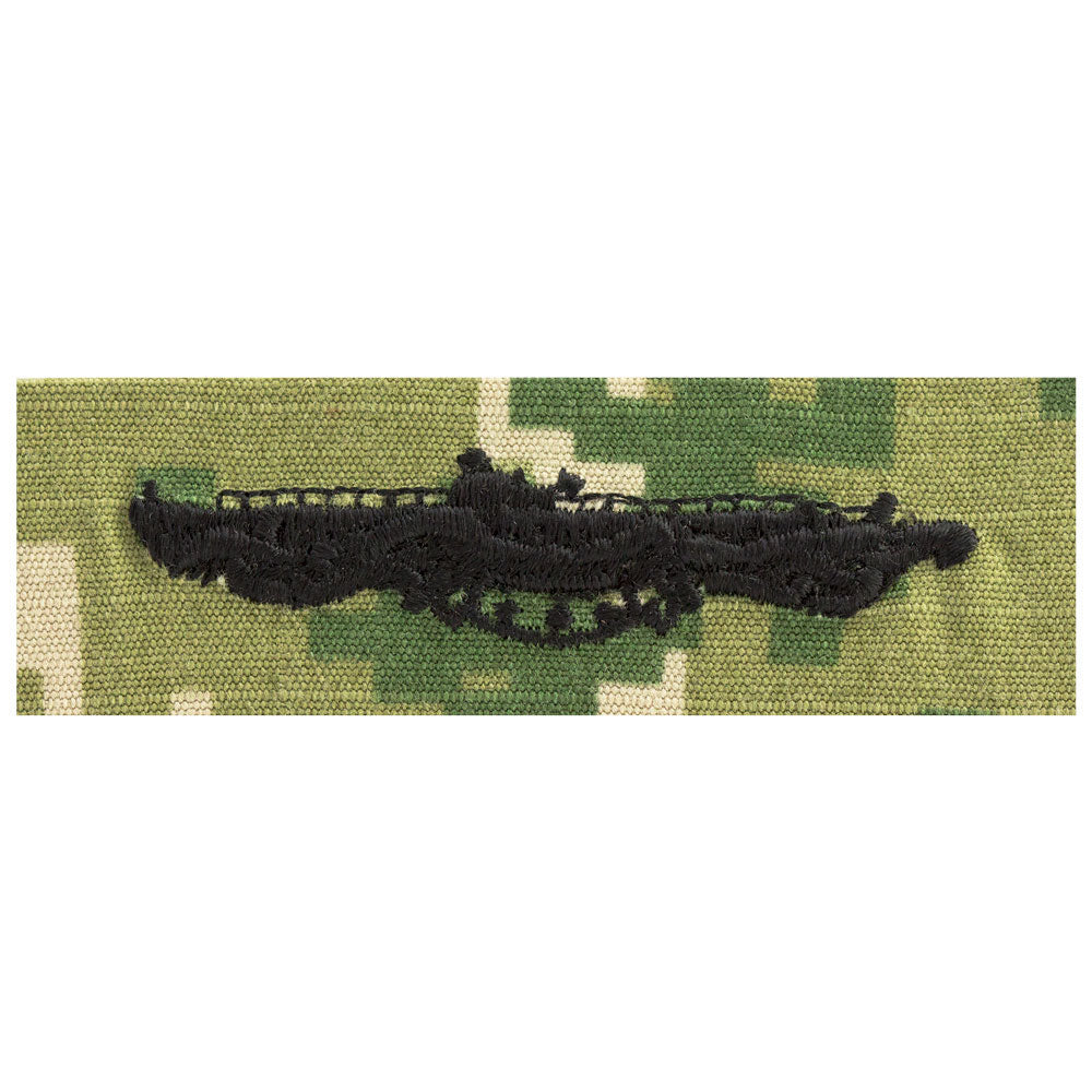 US Navy Embroidered Badge - Submarine Combat Patrol