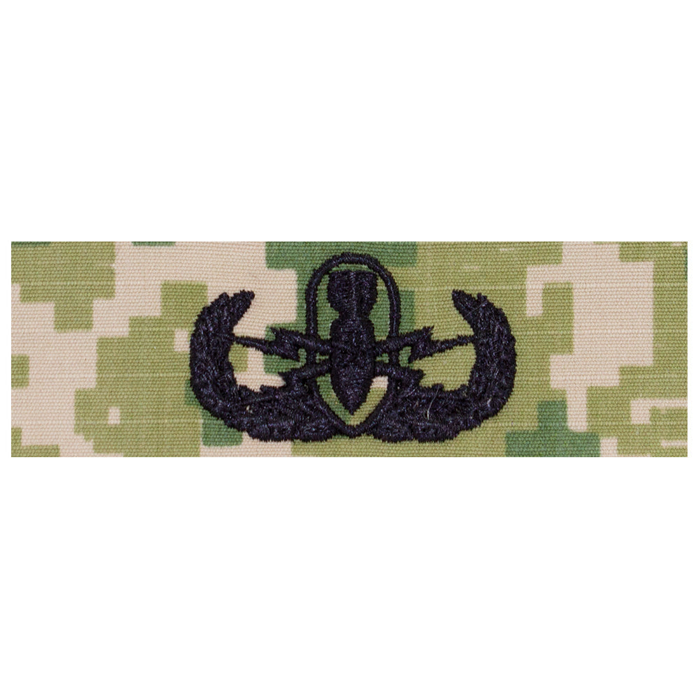 US Navy Embroidered Badge - Senior EOD