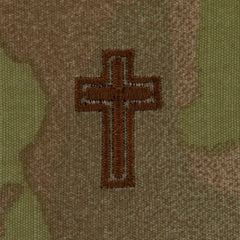 Air Force Chaplain Badges Embroidered - OCP