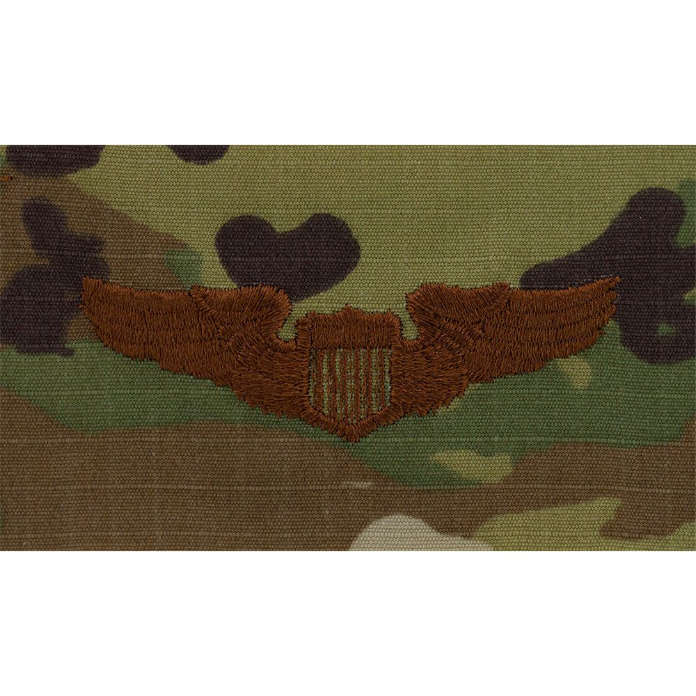 Air Force Pilot Badges Embroidered - OCP