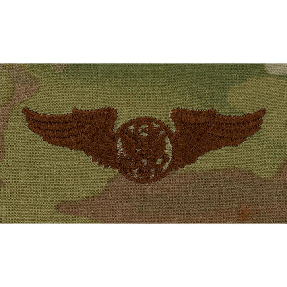 Air Force Aircrew Badges Embroidered - OCP