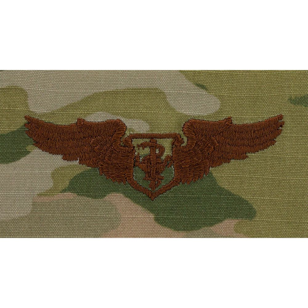 Air Force Flight Nurse Badges Embroidered - OCP