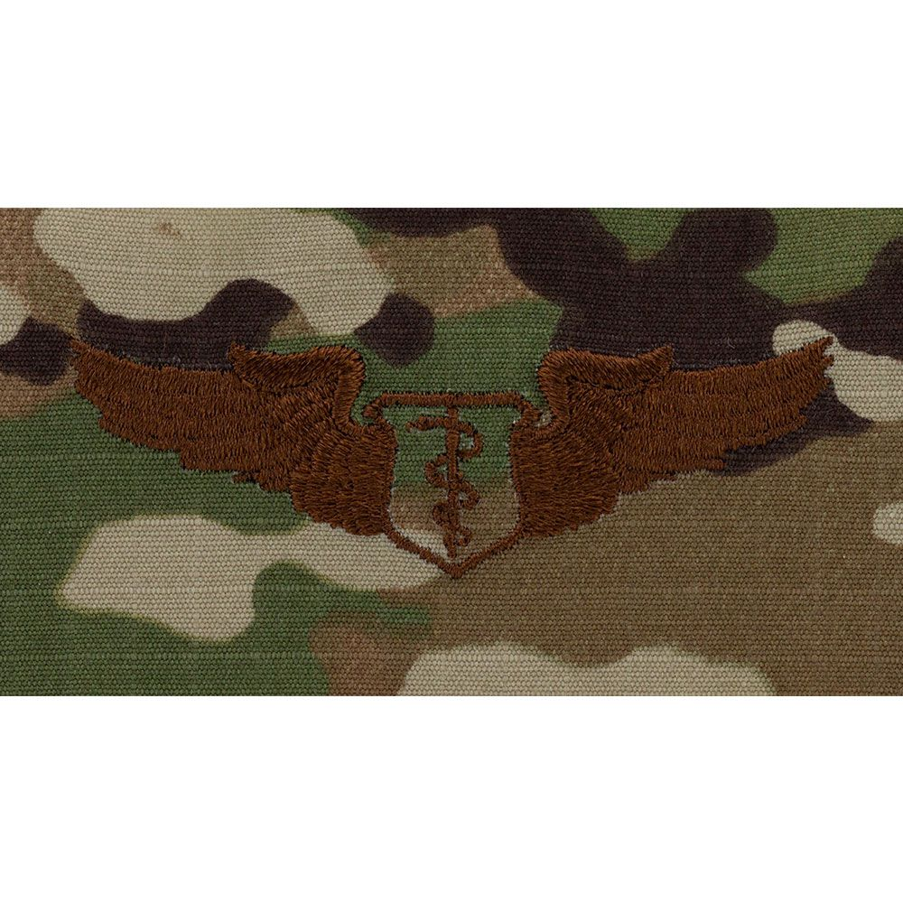 Air Force Flight Surgeon Badges Embroidered - OCP