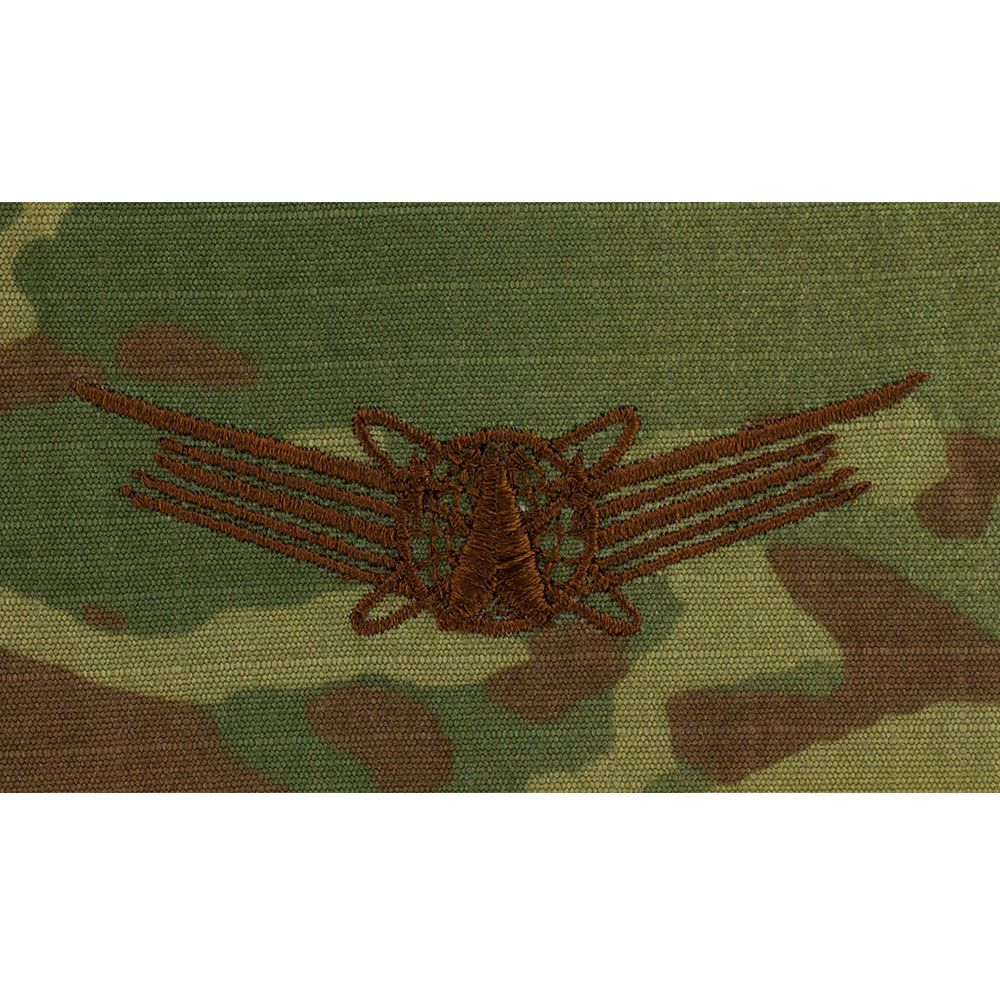Air Force Space Operations Badges Embroidered - OCP
