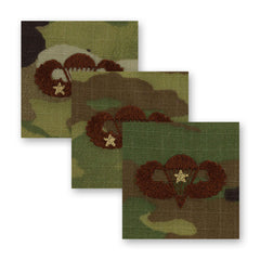 Air Force Basic Combat Parachutist Badges Embroidered - OCP