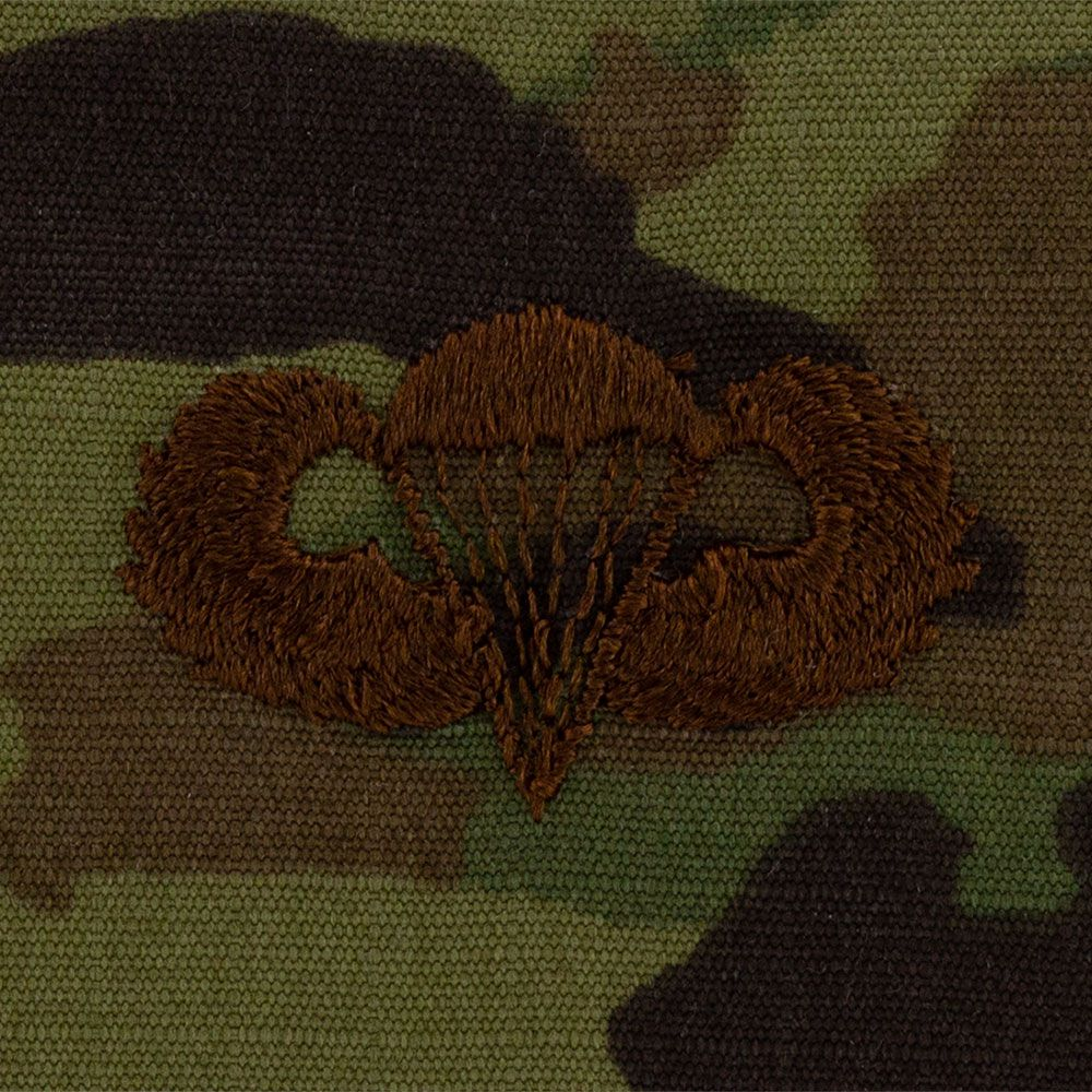 Air Force Parachutist Badges Embroidered - OCP