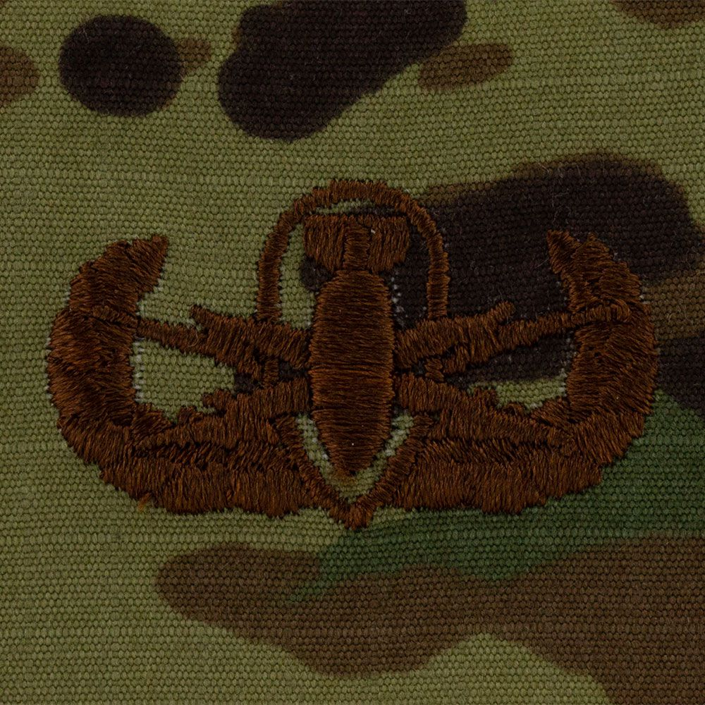 Air Force EOD Badges Embroidered - OCP