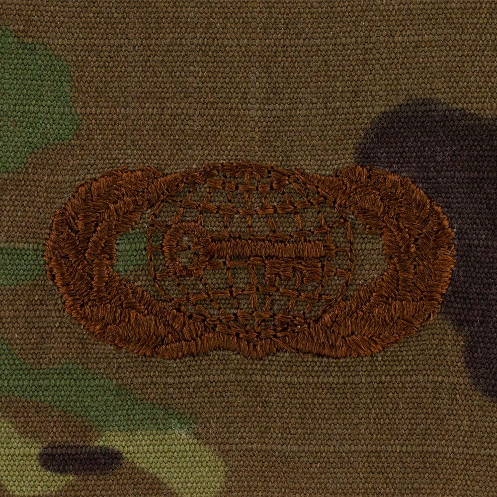 Air Force Intelligence Badges Embroidered - OCP