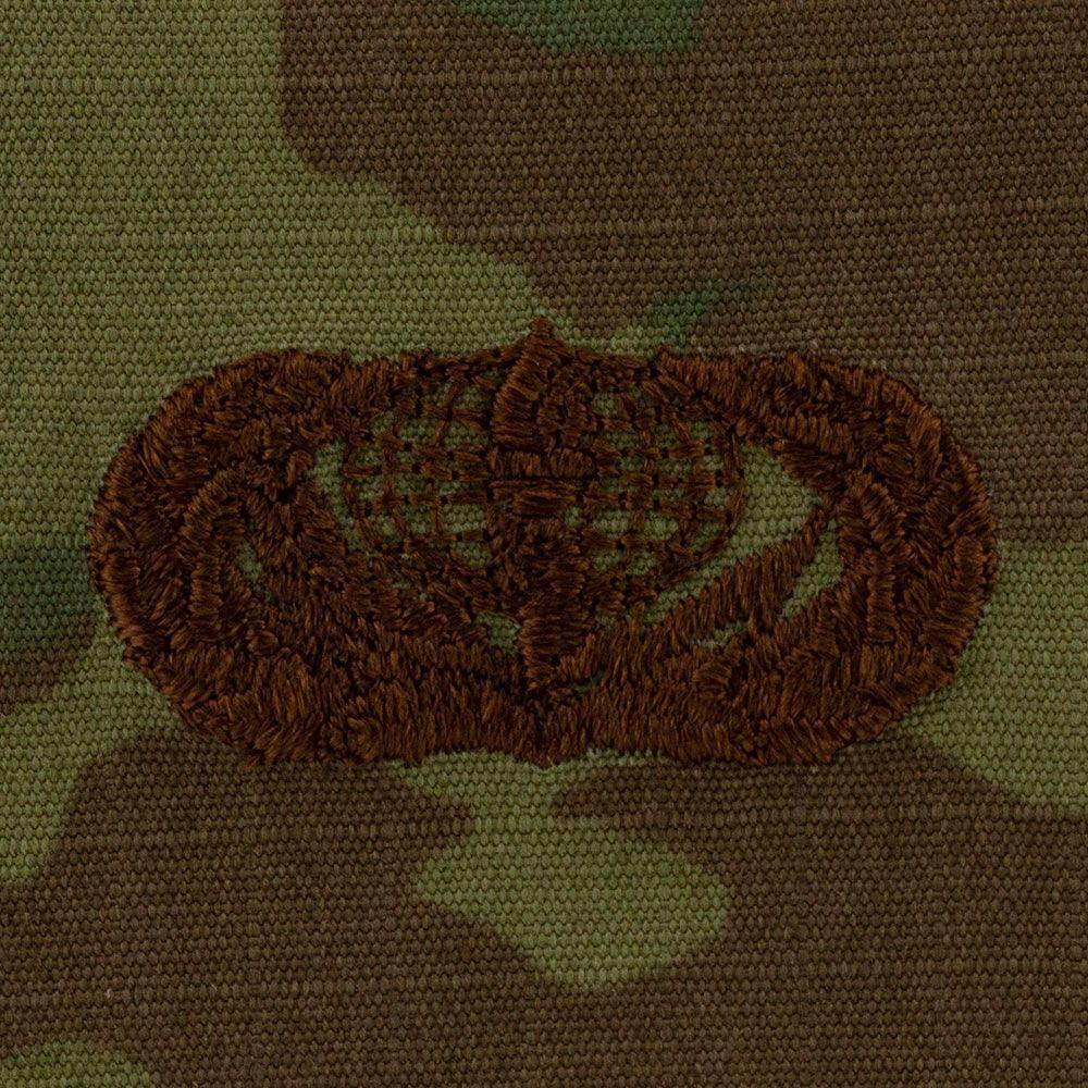 Air Force Services Badges Embroidered - OCP