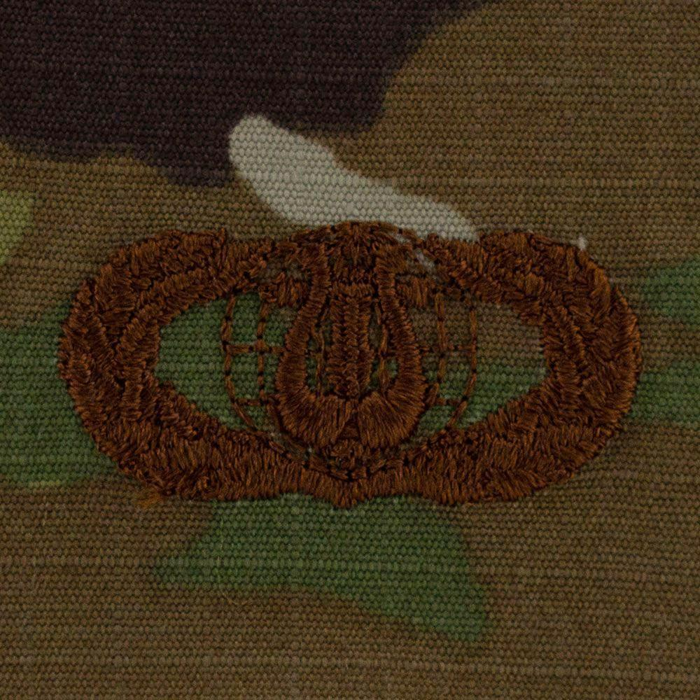 Air Force Band Badges Embroidered - OCP