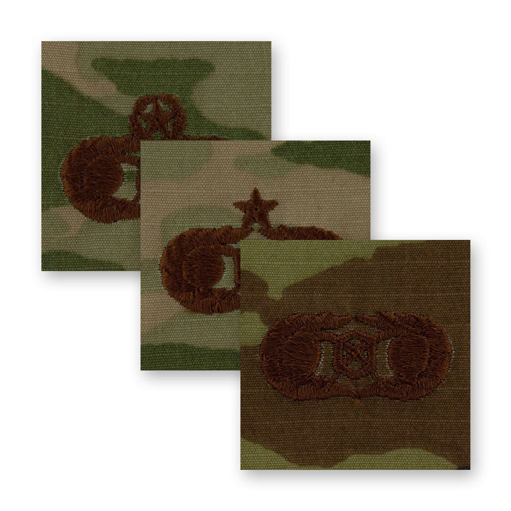 Air Force Civil Engineer Readiness Badges Embroidered - OCP