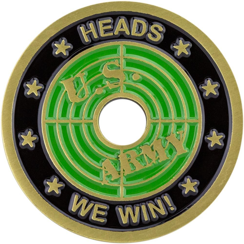 U.S. Army Heads and Tails Challenge Coin