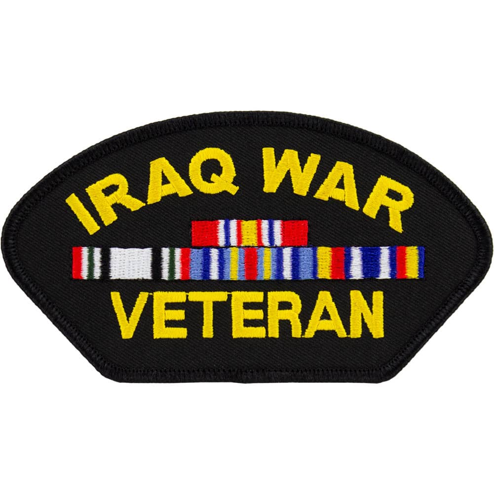 Iraq War Veteran Patch