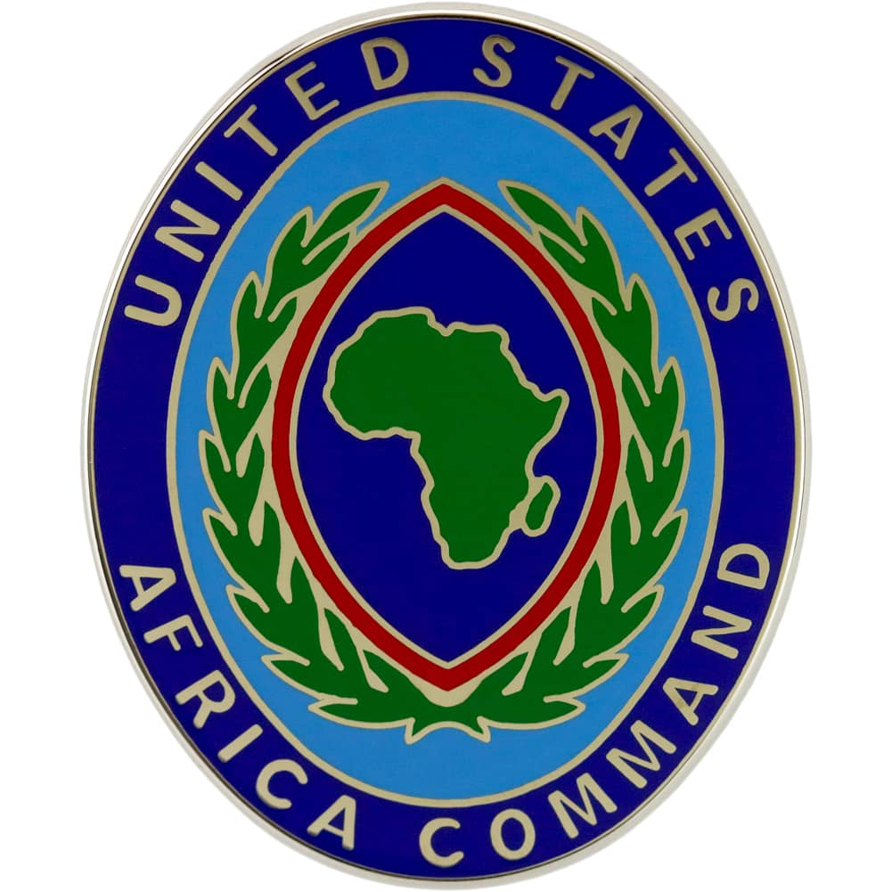 US Africa Command Combat Service Identification Badge CSIB
