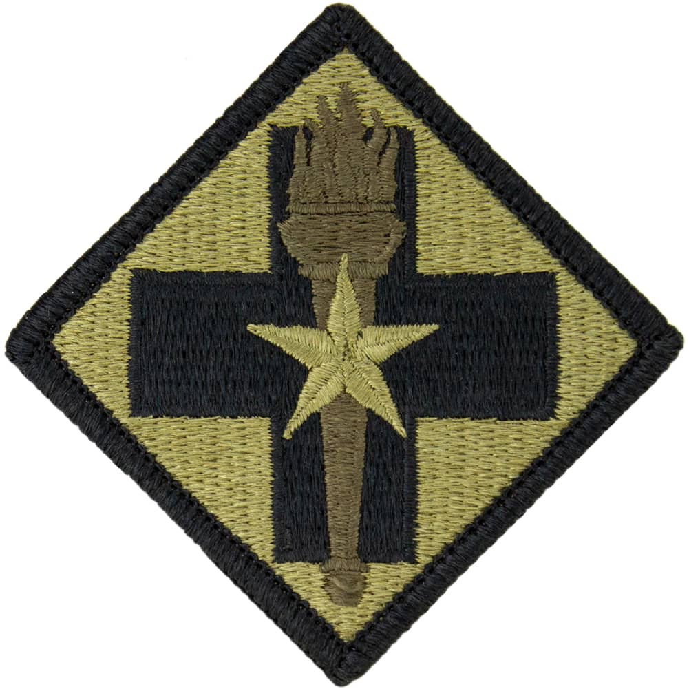 32nd Medical Brigade OCP/Scorpion Patch