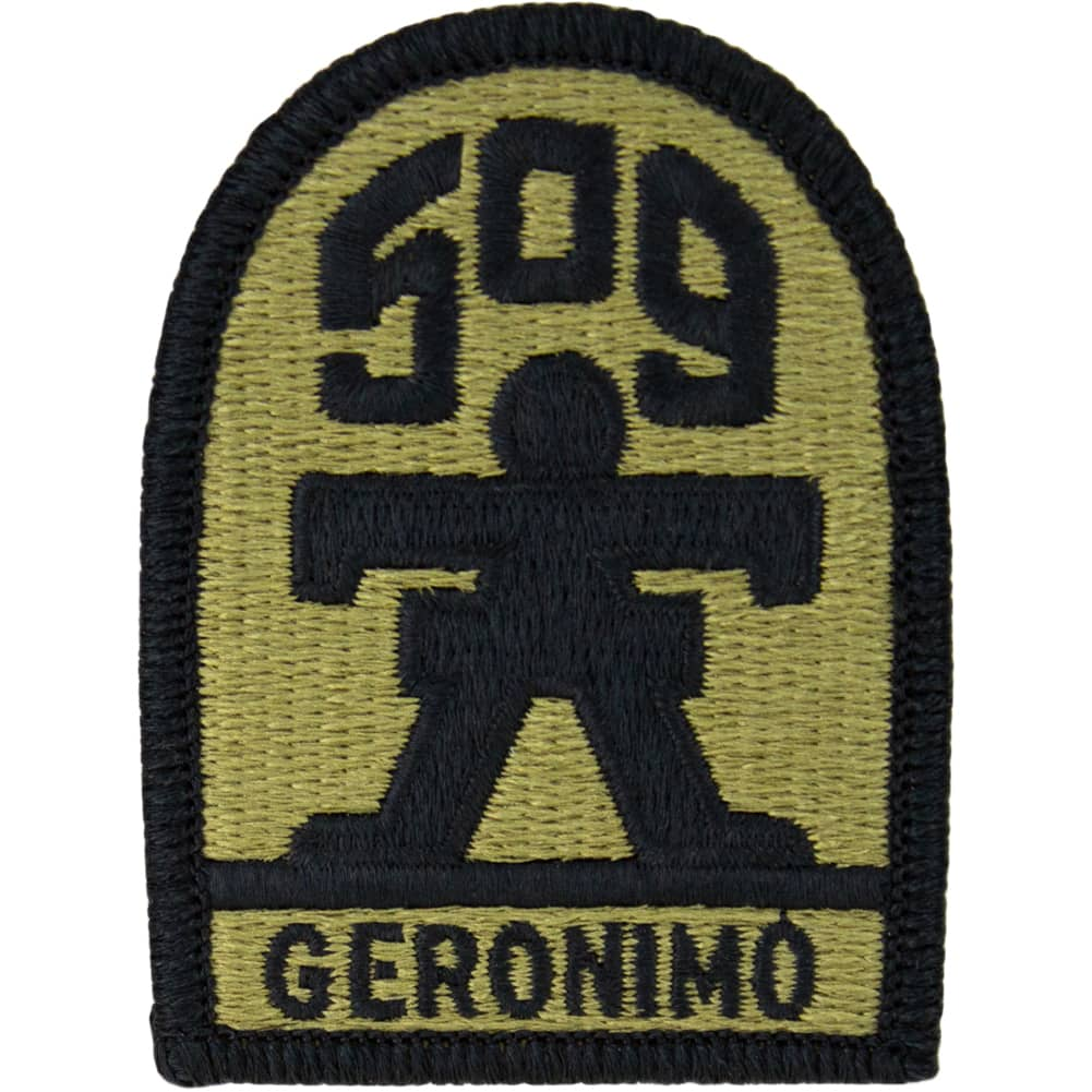 509th Infantry Geronimo OCP/Scorpion Patch