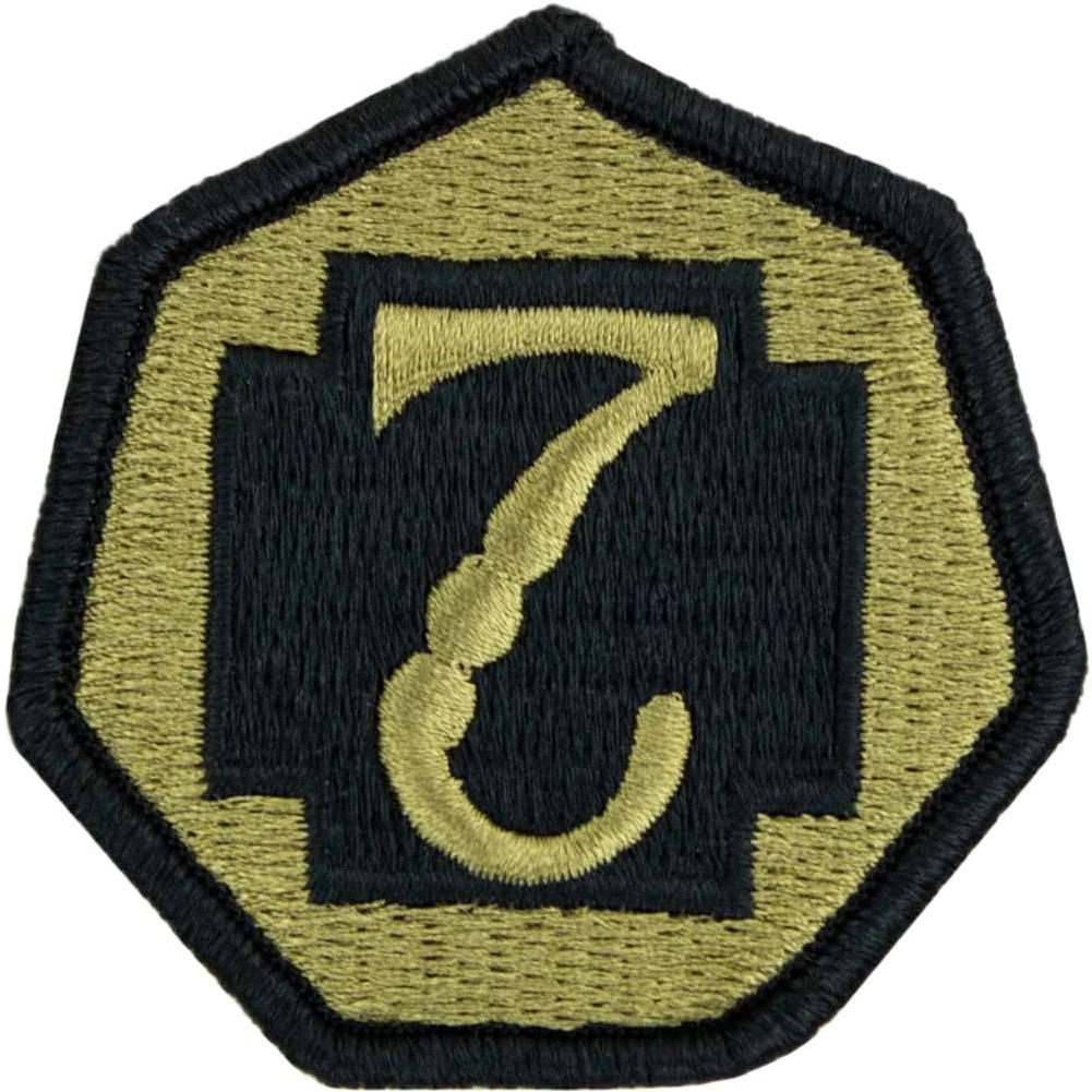 7th Medical Command OCP/Scorpion Patch
