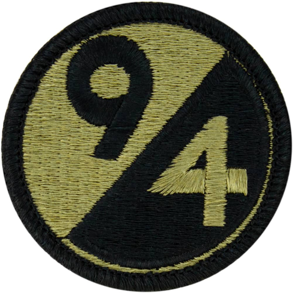 94th Infantry Division OCP/Scorpion Patch