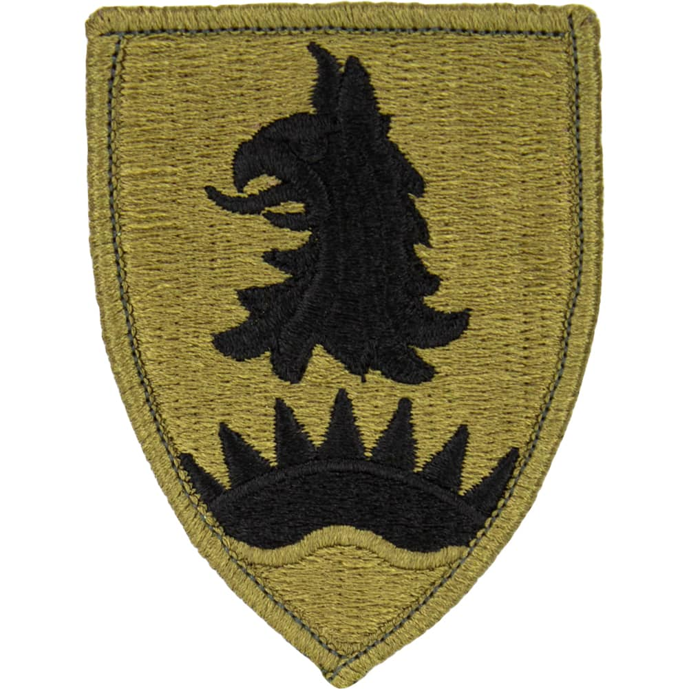 221st Military Police Brigade OCP/Scorpion Patch