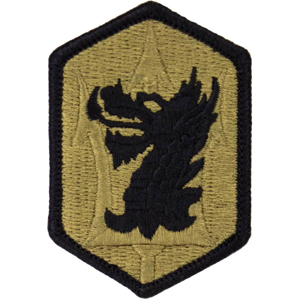 631st Field Artillery Brigade OCP/Scorpion Patch