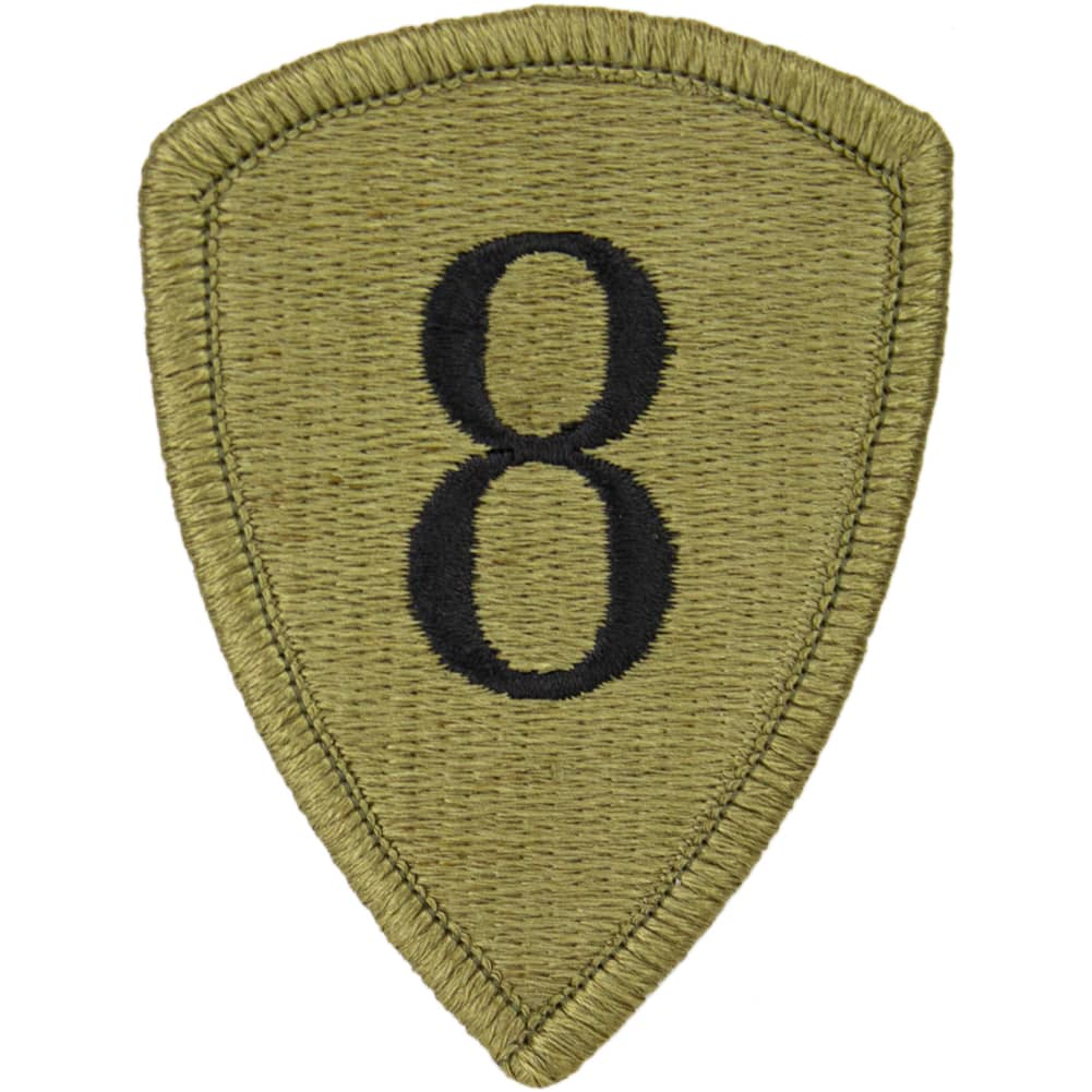 8th Personnel Command OCP/Scorpion Patch