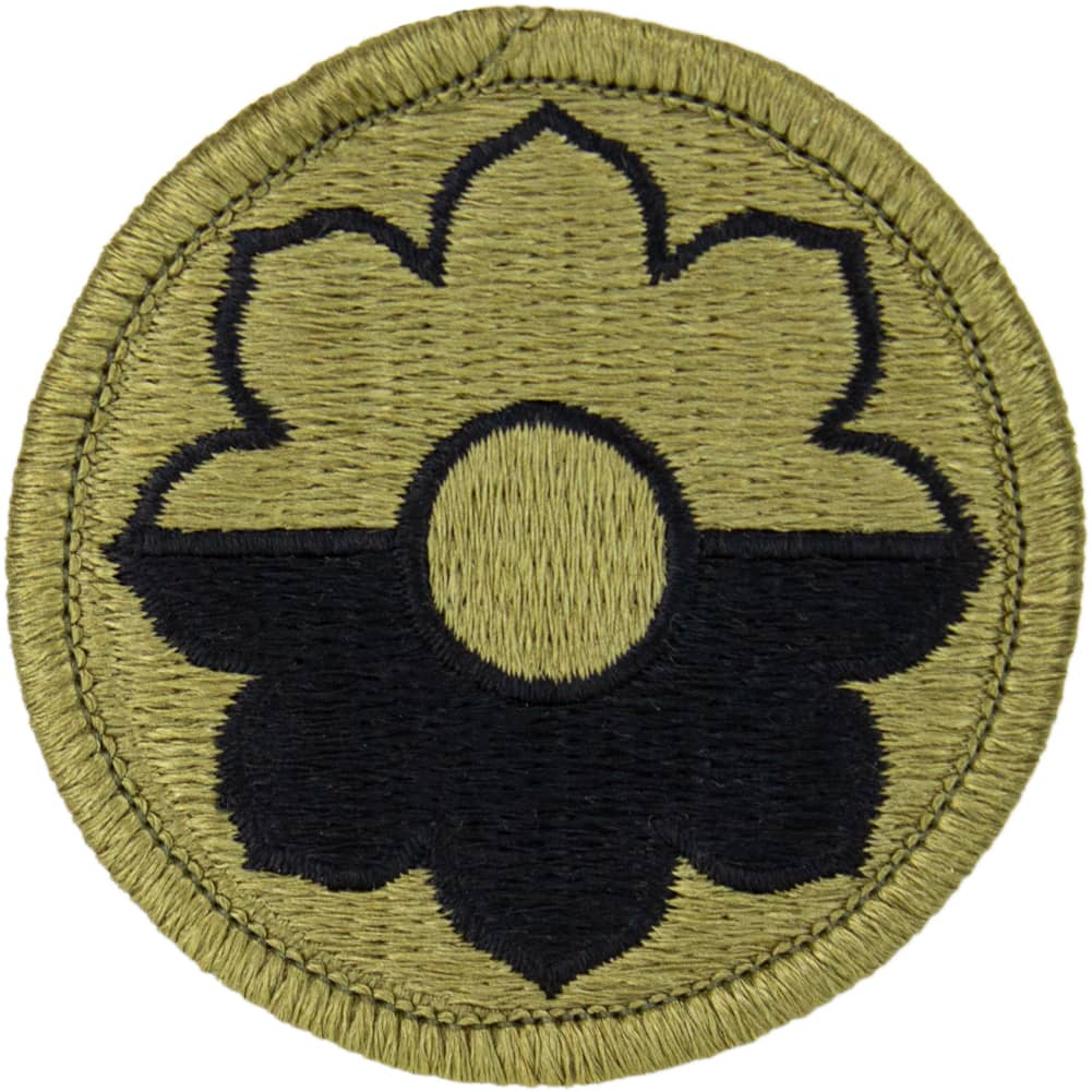 9th Infantry Division OCP/Scorpion Patch