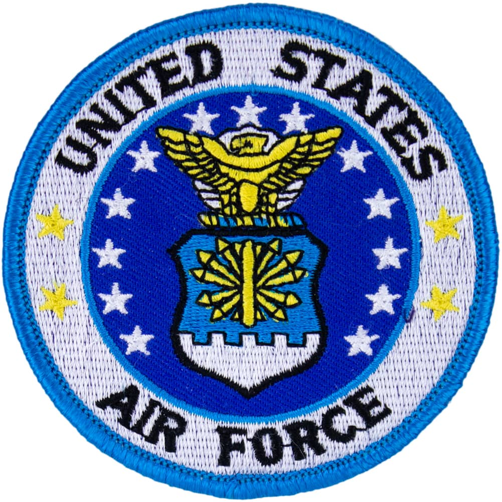Air Force Seal Full Color Patch