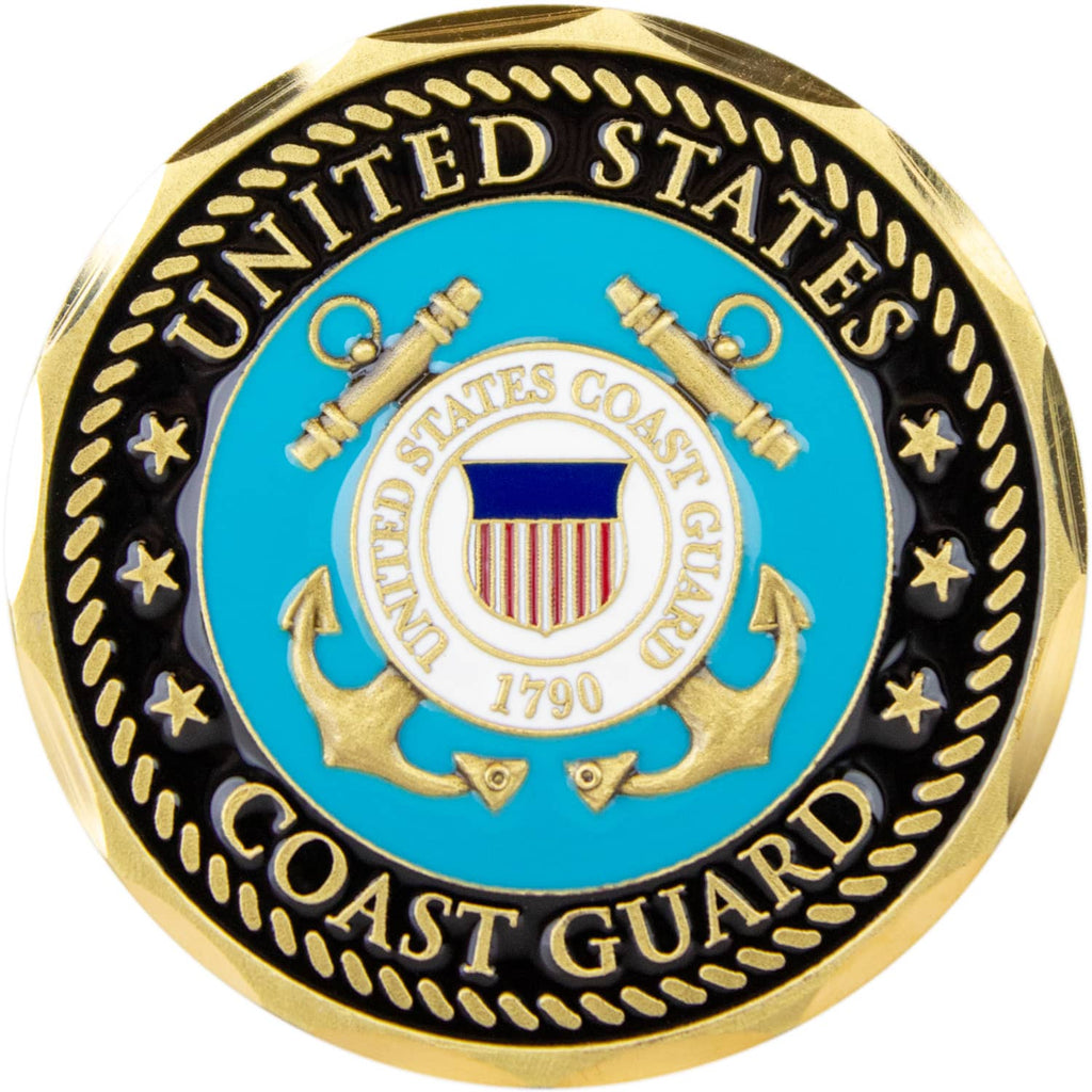 Retired - U.S. Coast Guard Challenge Coin
