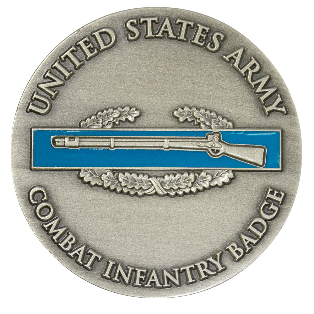 Combat Infantry Badge CIB Coin