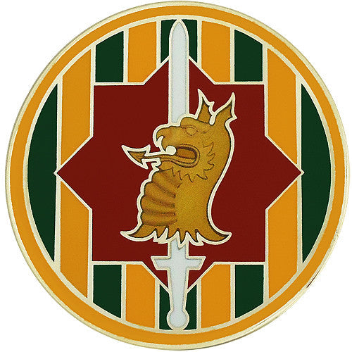 89th Military Police Brigade Combat Service Identification Badge