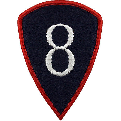 8th Personnel Command Class A Patch