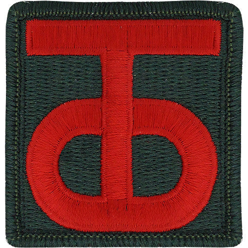 90th Sustainment Brigade Class A Patch