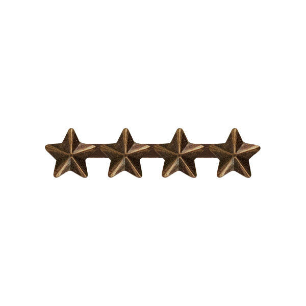 Prongless Four Bronze Star Device