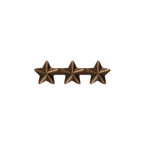 Prongless Triple Bronze Star Device