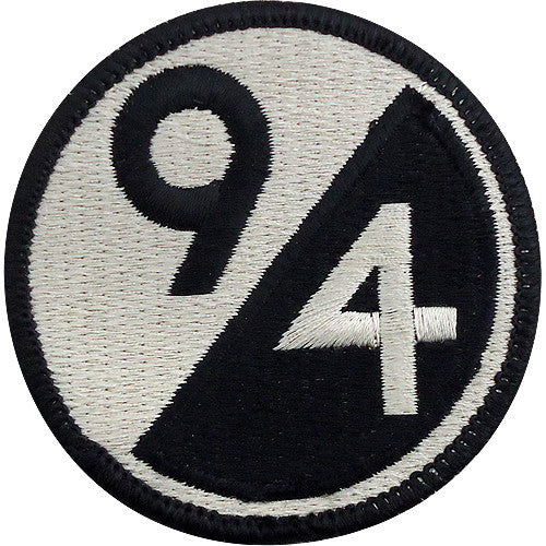 94th Training Division Class A Patch