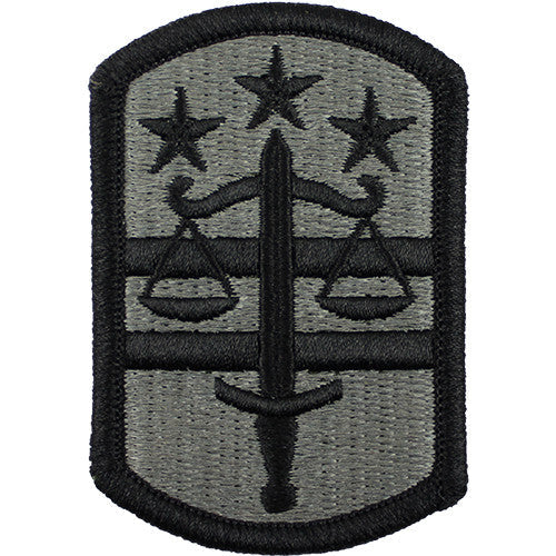 260th Military Police Brigade ACU Patch