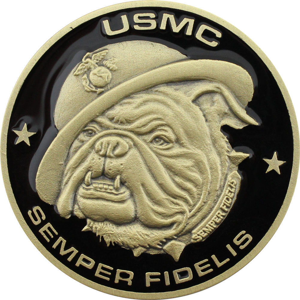 U.S. Marine Corps Retired Coin - Front