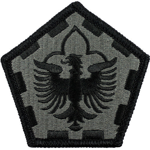 555th Engineer Group ACU Patch