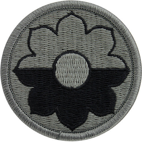 9th Infantry Division ACU Patch